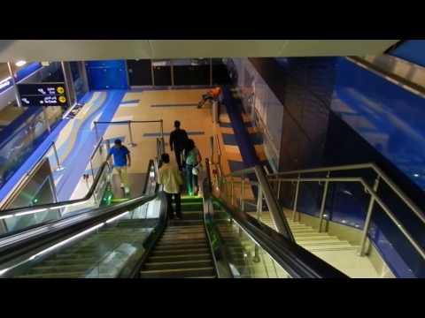 Dubai - Public Transport - BurJuman Station Tour (Dubai metro) 2016 07 22