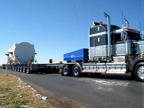 HHA 16 Axle Big Move - 241 ton Generator