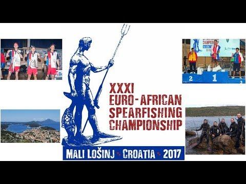 XXXI Евро-Африканский Чемпионат по подводной охоте - рассказывает сборная России