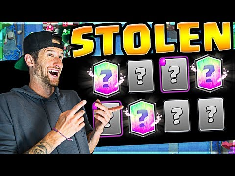 I Stole this Deck ... It's Undefeated // Clash Royale