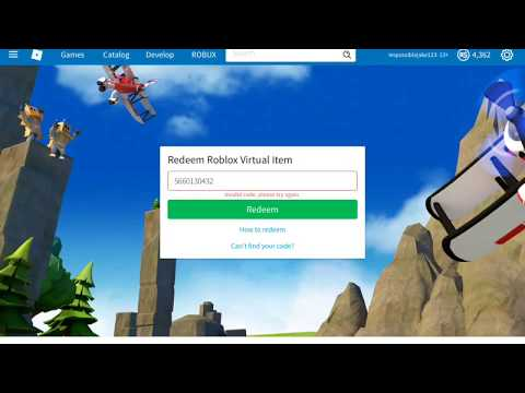 Redeeming more ROBLOX toy codes(part 3) - YouTube