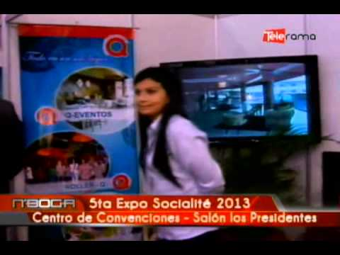 5ta. Expo Socialité 2013 Centro de Convenciones - Salón los Presidentes