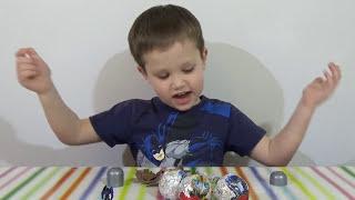 ТРАНСФОРМЕРЫ шары с сюрпризом открываем игрушки TRANSFORMERS surprise balls toys unboxing
