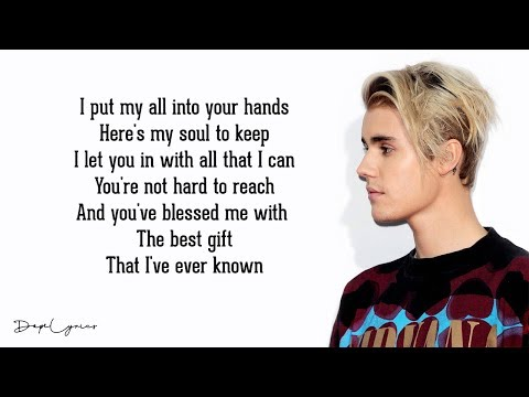 Purpose - Justin Bieber (Lyrics) 🎵