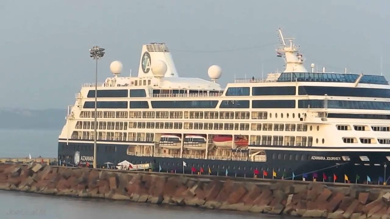 Azamara Journey Ship Goa Youtube