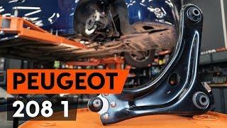 Hvordan bytte Opphengsarmer PEUGEOT 208 - online gratis video