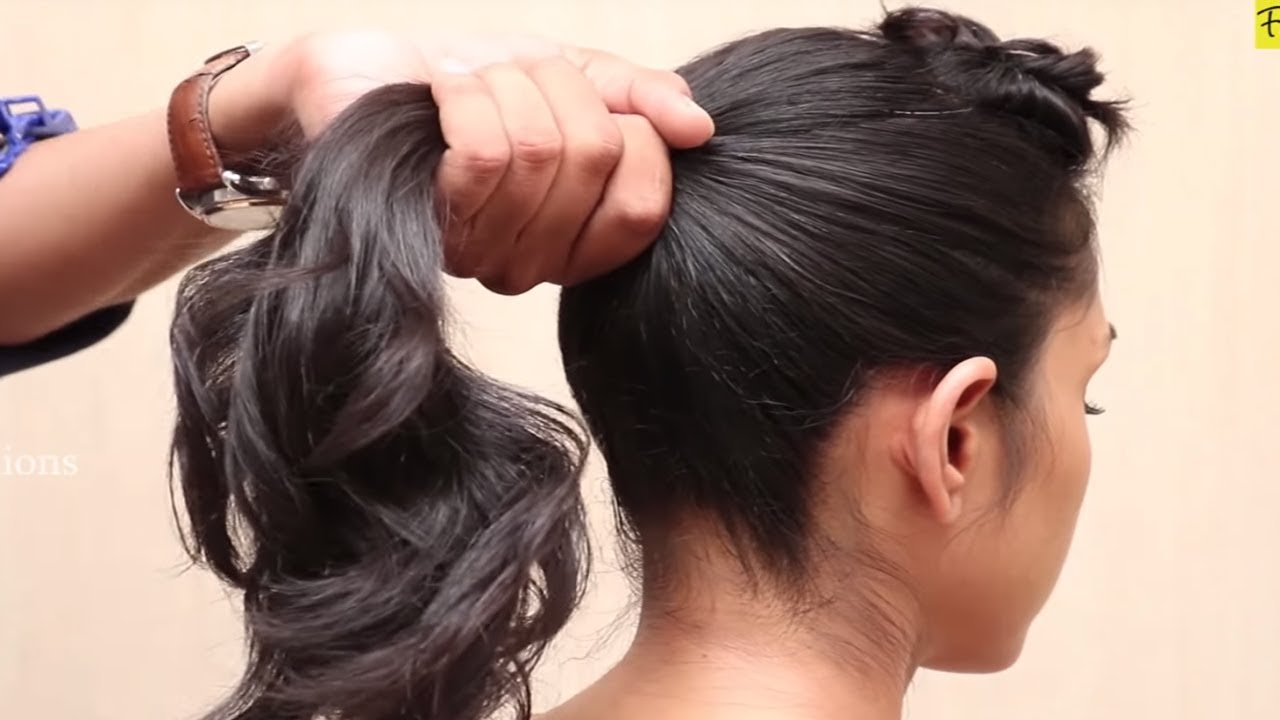 Different Ponytail Hairstyles For Short Hair ★ Simple And