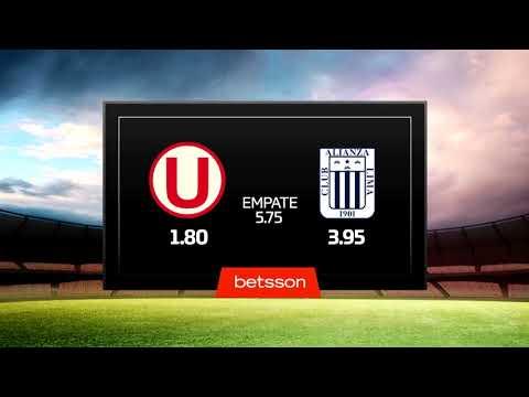 Estadísticas Betsson: Universitario de Deportes vs. Alianza Lima