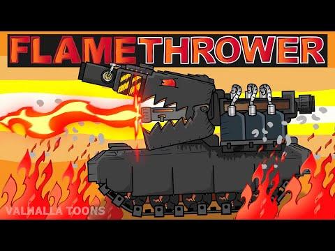 Iron Flamethrower - Cartoons About Tanks