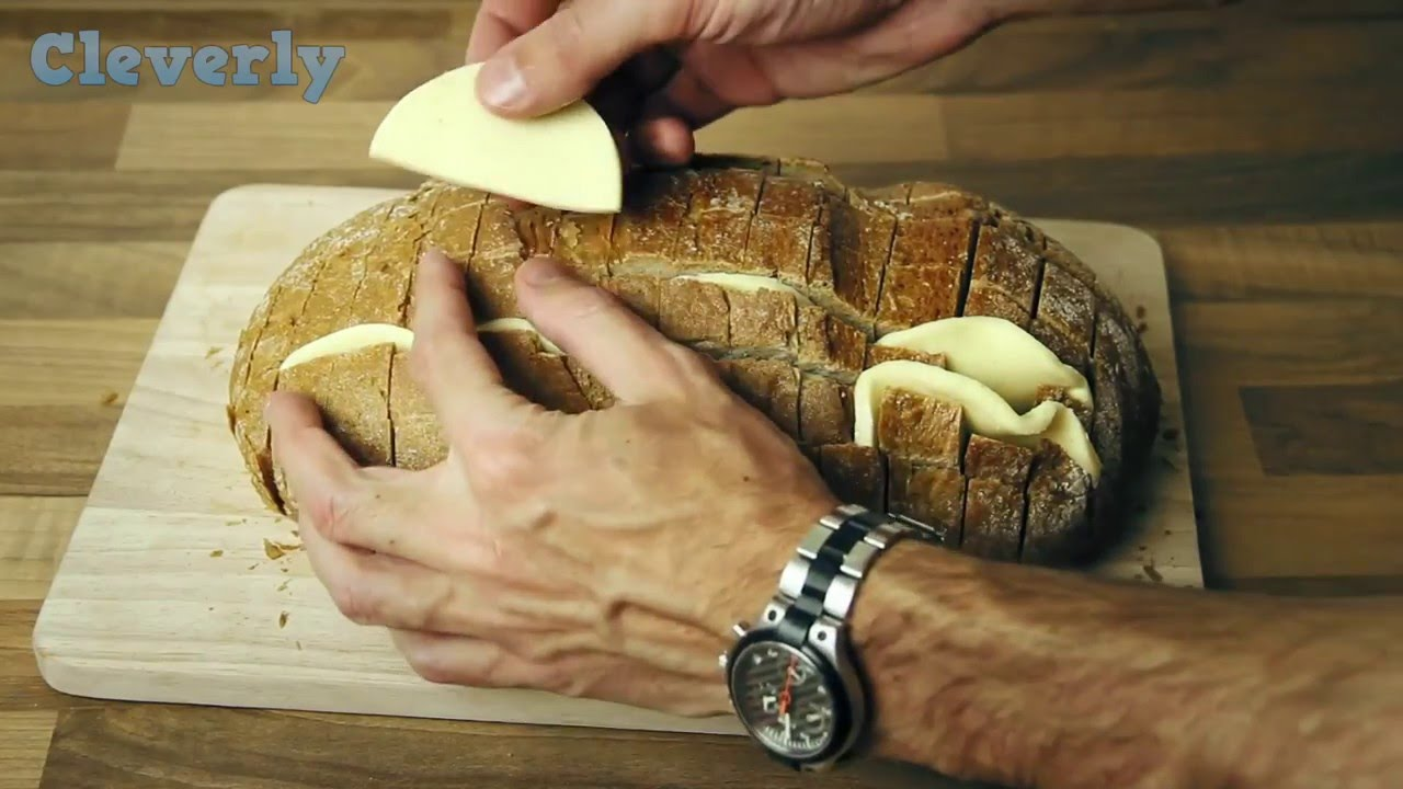 Wrap a bread in tinfoil and bake it in the oven. When you lift the foil everyone will be stunned. & Wrap a bread in tinfoil and bake it in the oven. When you lift the ...