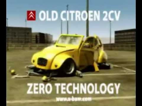 citroen 2cv zero technology