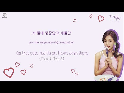TWICE 트와이스 - Likey 라이키 Color-Coded-Lyrics Han l Rom l Eng 가사 lxoxobuttons