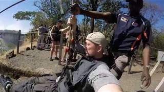Victoria Falls Bridge Slide Zambia May 2018