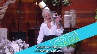 Christina Aguilera - Promo Adelanto Entrevista en Ellen 2016 (Subtítulos español)