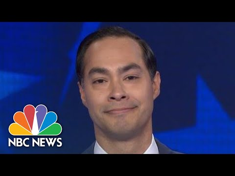 Julian Castro Was Big On Immigration Policy And Went After O'Rourke At Dem Debate | NBC News