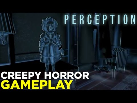 PERCEPTION - See Through SOUND In This Indie Horror Game