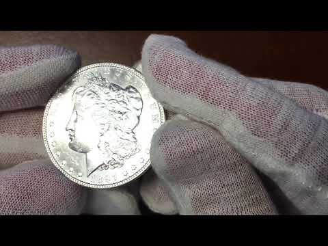 "Are these Morgan Dollars Cleaned ? Learn how to spot a ""whizzed"" Coin with the Coin Geek"