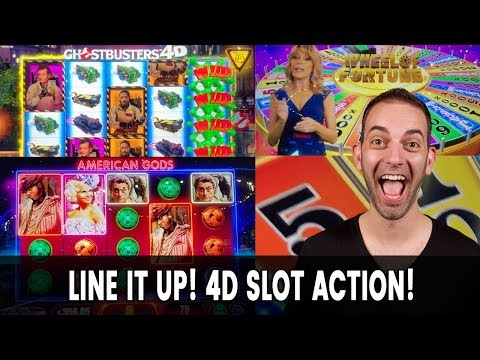 ???? 4D Slot Action! American GODS Bring Me Joy ???? SO DOES LOUISIANA!
