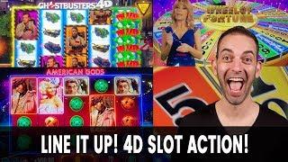 🎰 4D Slot Action! American GODS Bring Me Joy 🤗 SO DOES LOUISIANA!