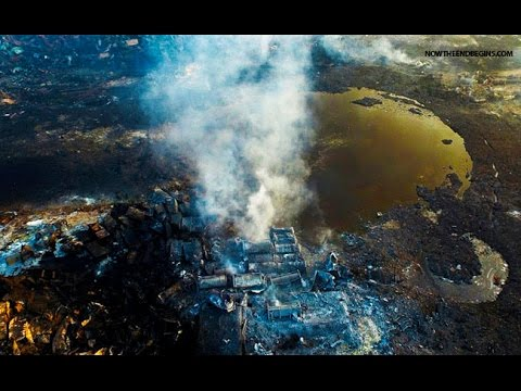 True Jew News ~ Tianjin Explosion... Warning Shot from the U.S.??? plus False Flag's Effects on Us