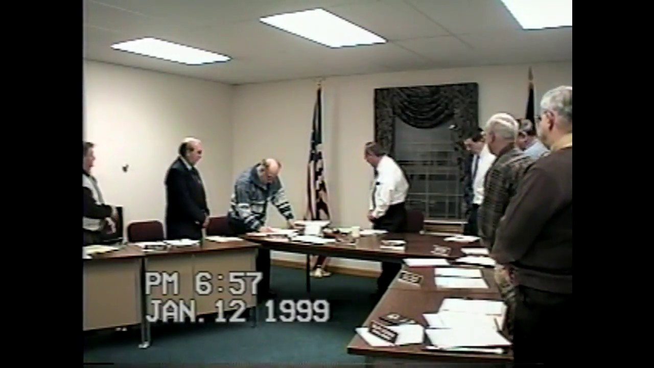 Champlain Town Board Meeting  1-12-99