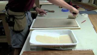 Creating A Bookmatched Veneer Panel - Part 4