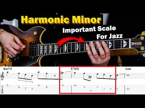 Harmonic Minor Is Amazing On These 3 Chords