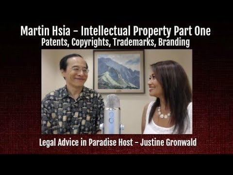 MARTIN HSIA Part One - Patents, Copyrights, Trademarks, Branding