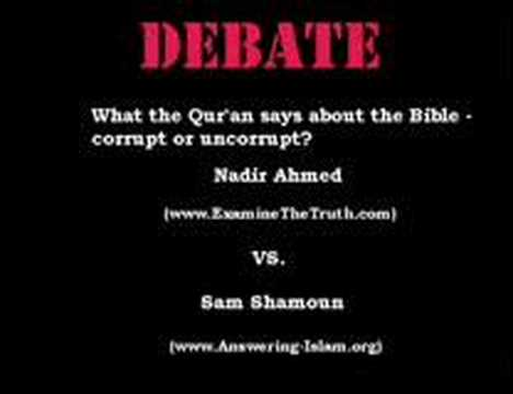 What the Qur'an says about the Bible corrupt or uncorrupt?