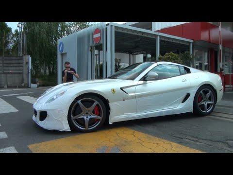 New Ferrari 599 Sa Aperta On The Road Great Sound Youtube