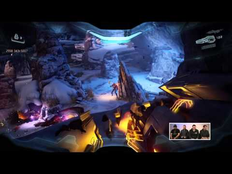 Halo 5: Live - Mission One Playthrough w/ 343