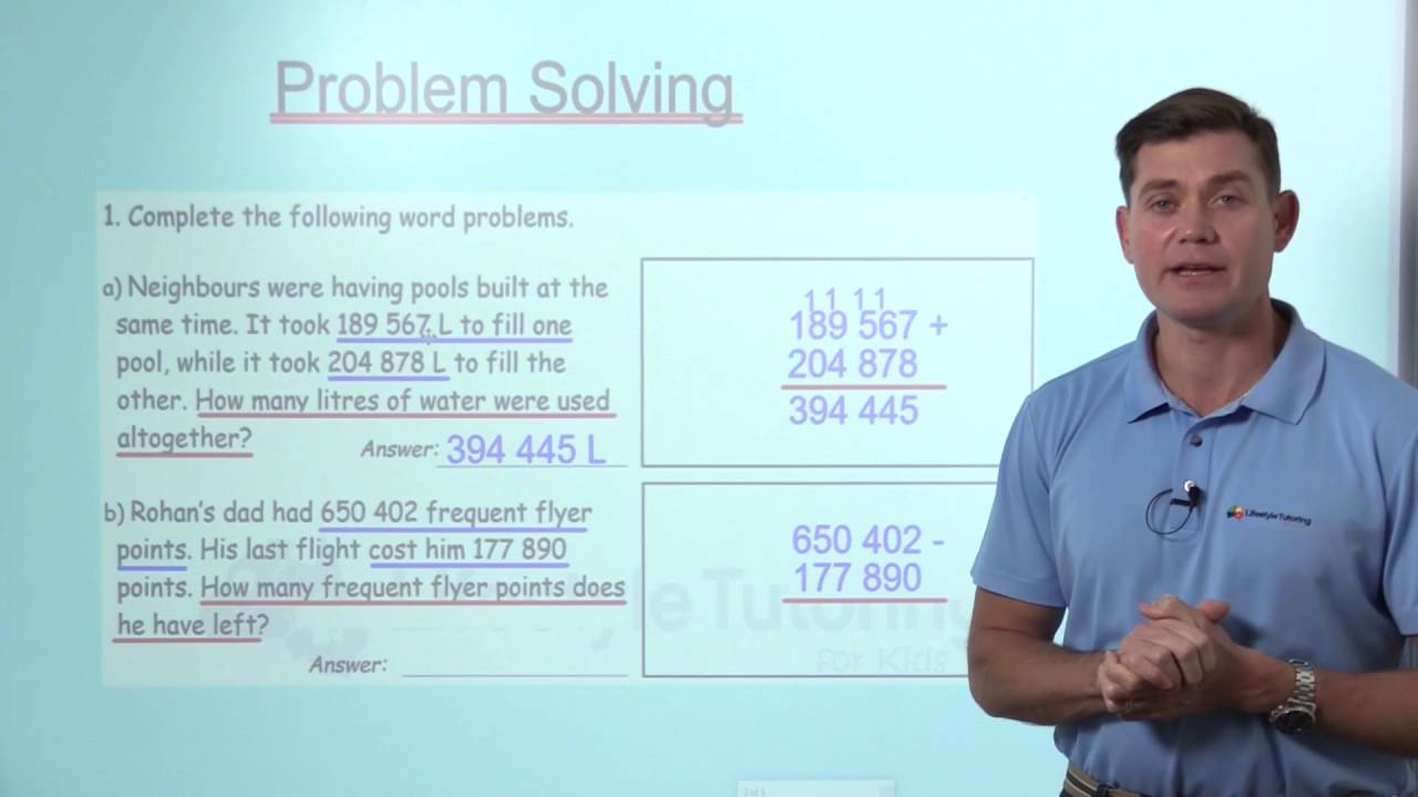 Year 6 Problem Solving - Number - YouTube