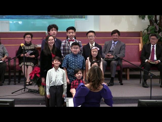 From Listen to the Angels - Children's Choir - Dec. 8, 2018