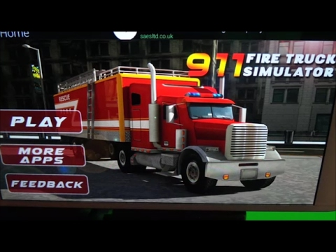 🚒 911 Fire Truck Simulator Free 3D Sim - Apple Gameplay - How to Play