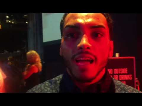 """Post fight interview with Alejandro """"Popo"""" Salinas at The Cannery in Las Vegas"""