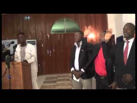FPA VIDEO: New Press Union of Liberia Leadership Induction