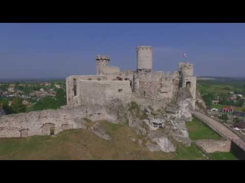 Aerial Video Ogrodzieniec Castle - Poland by AirQuad Drone Team