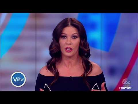Catherine Zeta-Jones Talks #MeToo Movement, Allegations Against Husband Michael Douglas | The View