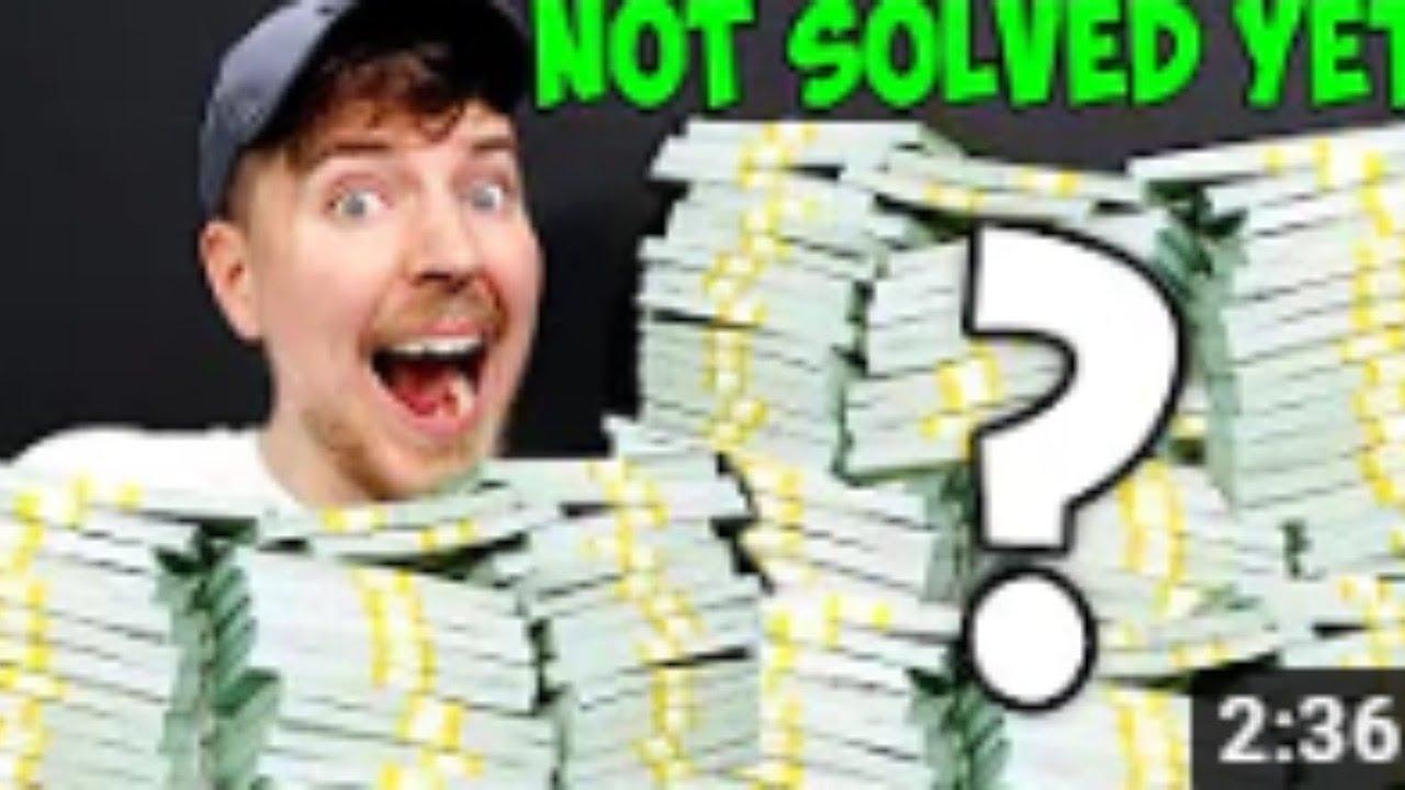 Solving Mr. Beast Riddle for $100,000 Steps 1-25