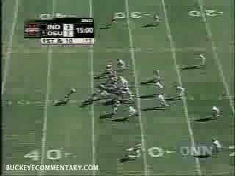Troy Smith to Ted Ginn - Touchdown