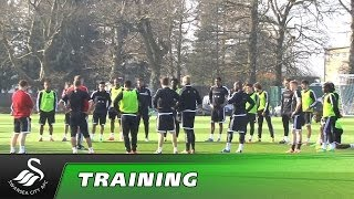 Swans Tv - Training Ahead Of West Brom