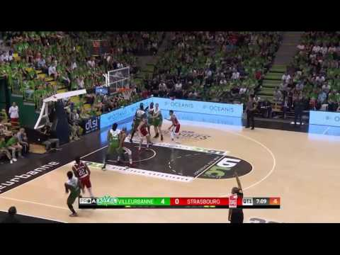 r sum du match asvel lyon villeurbanne vs sig strasbourg 1 2 finale match 3 playoffs 2017. Black Bedroom Furniture Sets. Home Design Ideas