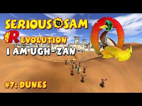 Serious Sam Classics: Revolution FE Walkthrough #7: Dunes(Commentary)