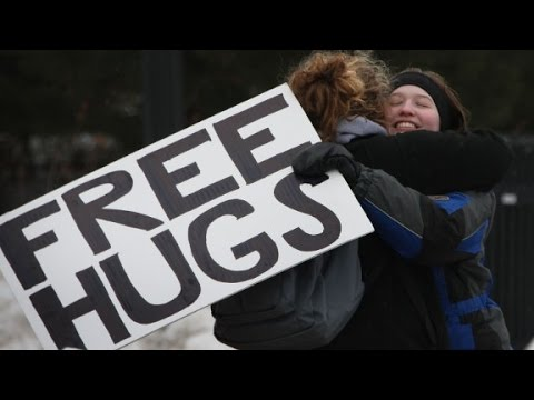 Could hugging it out help you avoid a cold?