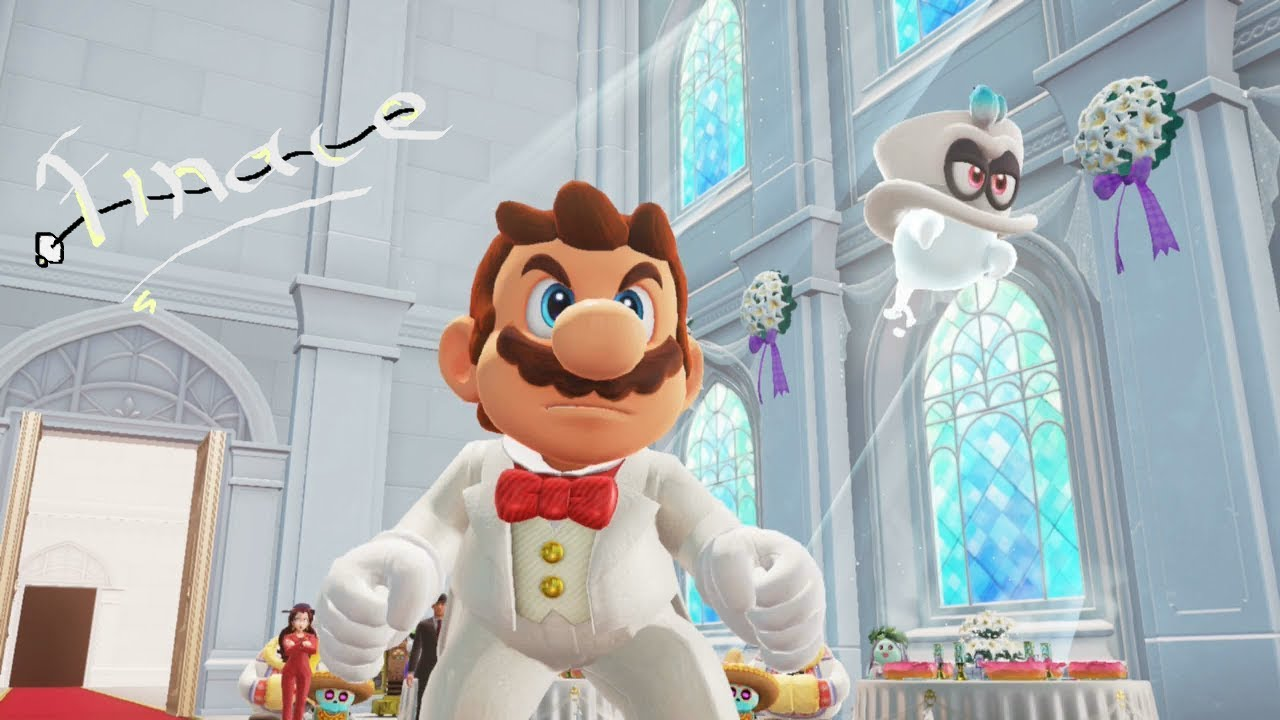 Super Mario Odyssey Bowser S Moon Wedding