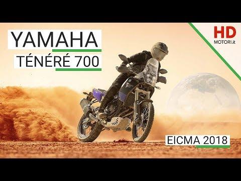 Yamaha Ténéré : anteprima da EICMA