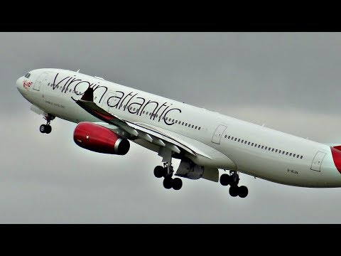HEAVY TAKEOFFS | PLANE SPOTTING at Manchester Airport (MAN) 2017 | A380, 747, 787, A330 + more