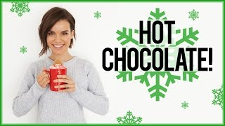 Holiday Hot Chocolate! // #DIYDecember Day 2