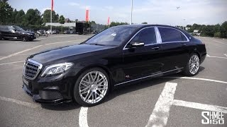 BRABUS SV12 R Mercedes-Benz S-Class Videos