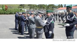 Ministro da Defesa Nacional e Chefias Militares das Forças Armadas no 102º aniversário da GNR
